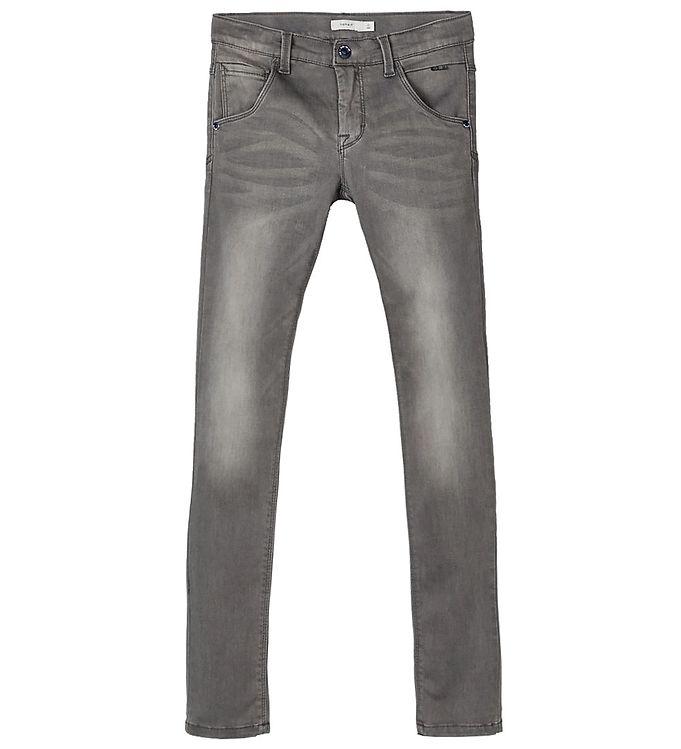 Image of Name It Jeans - Noos - Nitclas - Mørkegrå (SU434)