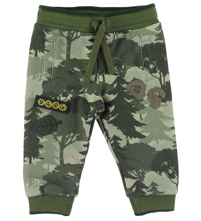 Image of Dolce & Gabbana Sweatpants - Camouflage (SU451)