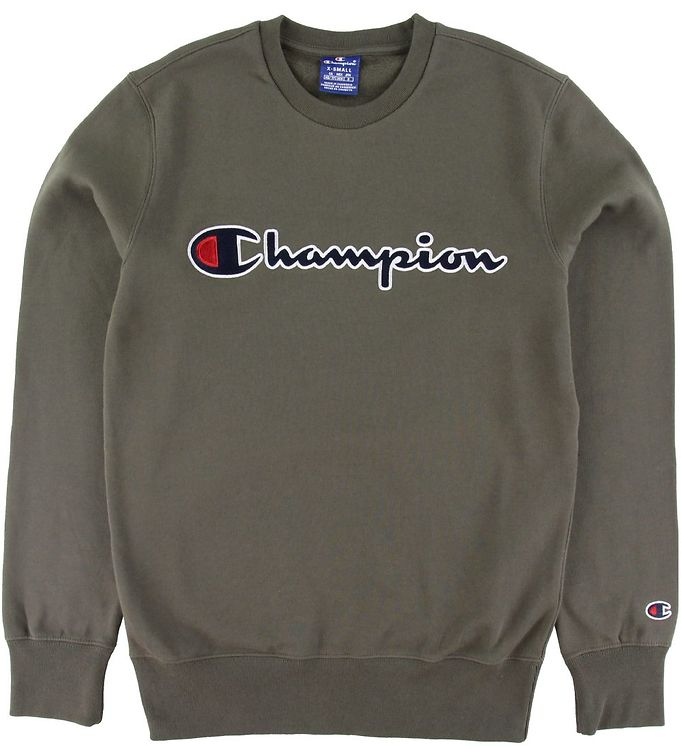 Image of Champion Sweatshirt - Armygrøn (SU485)