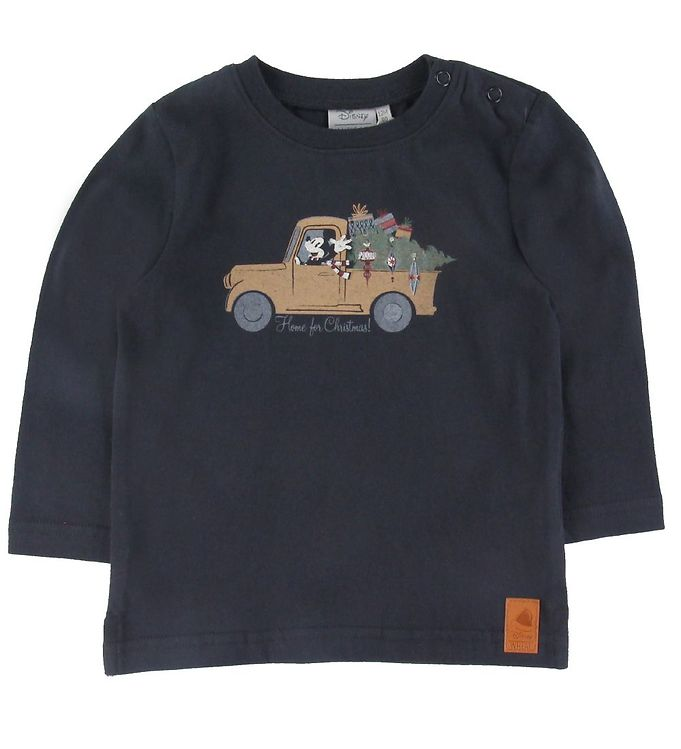 Image of Wheat Disney Bluse - Home For Christmas - Midnight Blue (SU836)