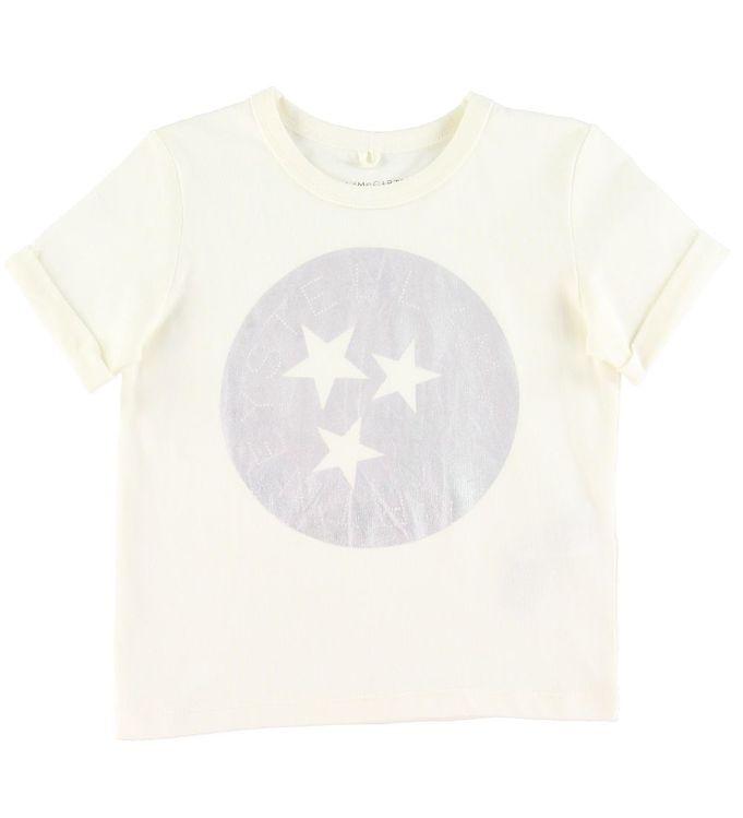 Image of Stella McCartney Kids T-shirt - Stella Holographic - Hvid (SV004)
