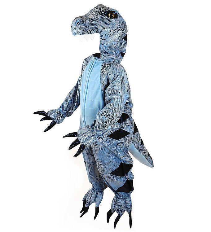 Image of Den Goda Fen Udklædning - Dinosaur - Blå (SV042)