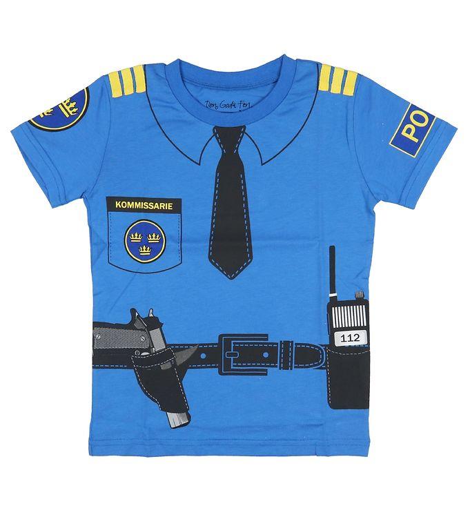 Image of Den Goda Fen Udklædning - Politi - Blå (SV080)