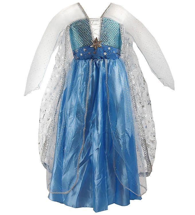 Image of Den Goda Fen Udklædning - Frost-kjole - Blå (SV134)