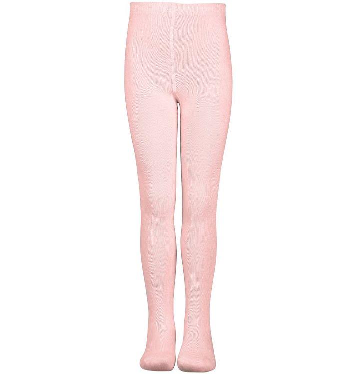 Melton Strømpebukser - Bambus - Rosa