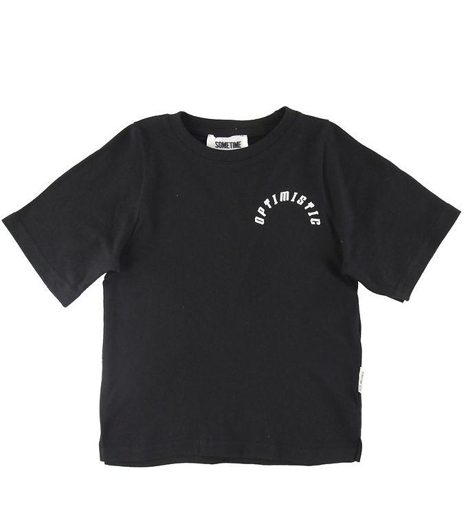 Image of Sometime Soon T-shirt - Runner - Sort (SV595)