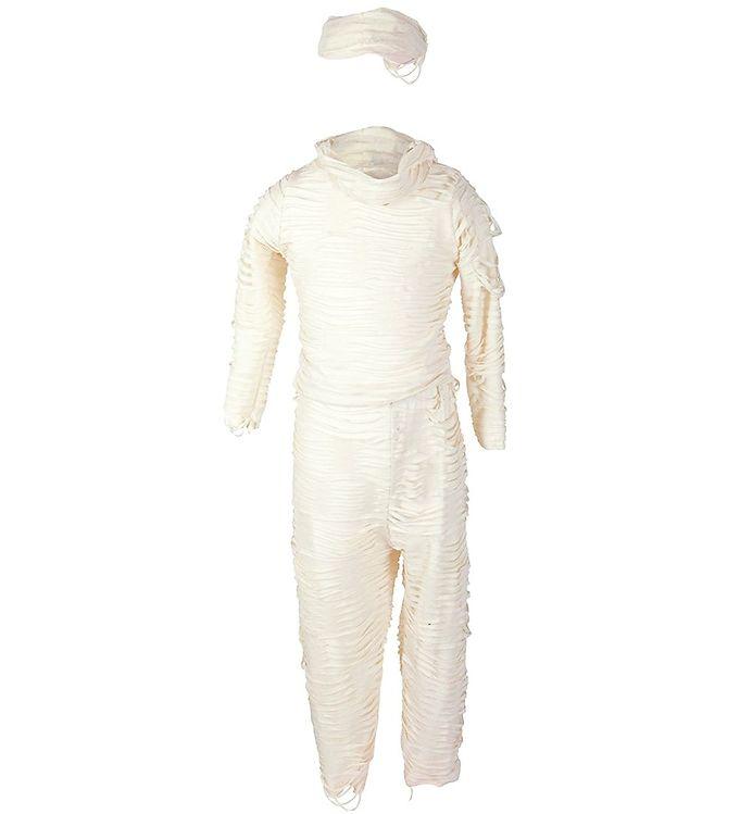Image of Great Pretenders Udklædning - Mumie - Bluse/Bukser - Hvid (SV839)
