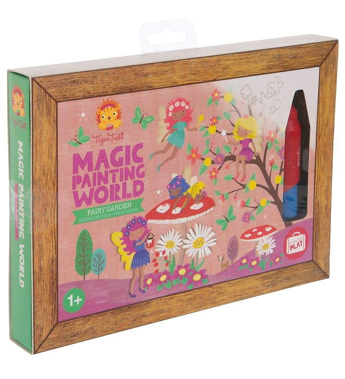 Image of Tiger Tribe Farvesæt - Magic Painting World - Fairy Garden (SX977)