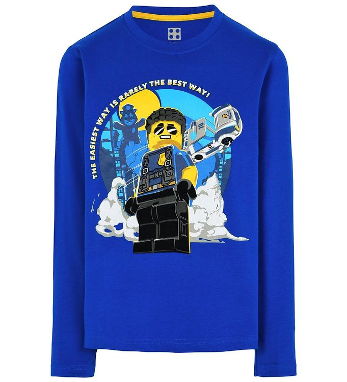 Image of Lego City Bluse - Blå m. Print (SY006)