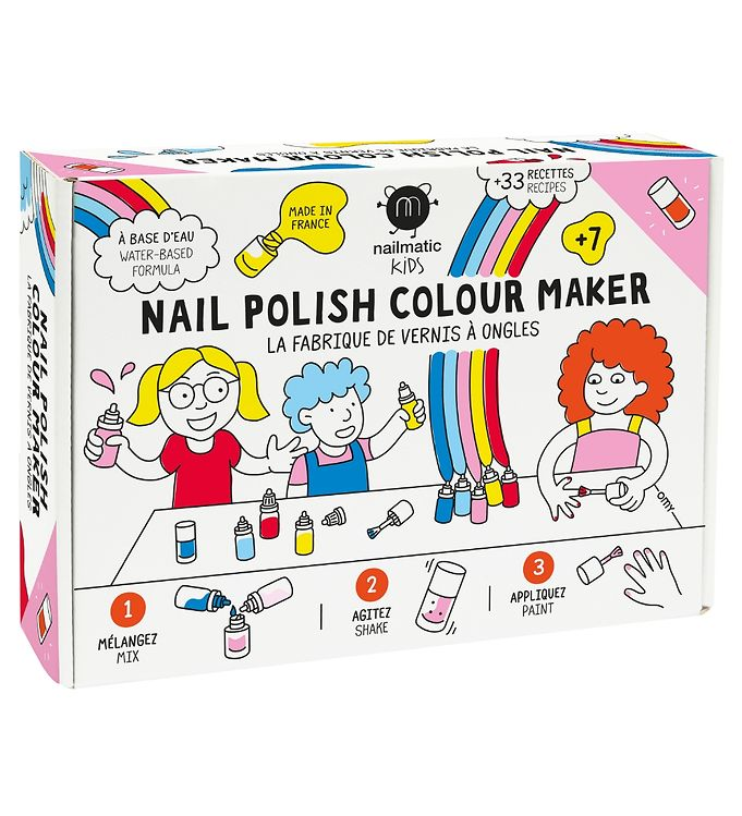 Image of Nailmatic Neglelaksæt - DIY - Colour Maker - Multifarvet (SY329)