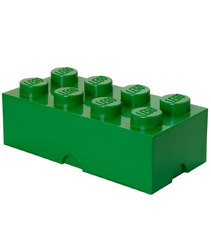 Image of Lego Storage Opbevaringsboks - 8 Knopper - 49 cm - Grøn (T347)