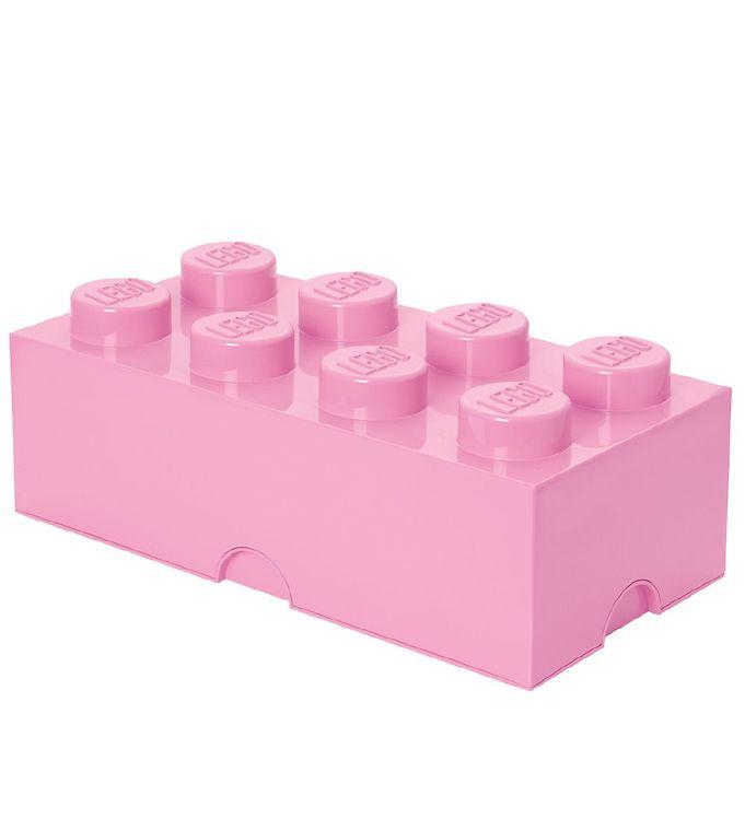 Billede af Lego Storage Opbevaringsboks - 8 Knopper - Lyserød