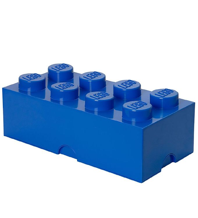 Image of   Lego Storage Opbevaringsboks - 8 Knopper - Blå