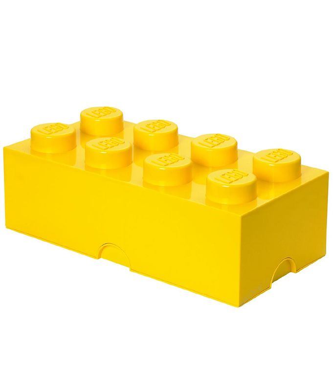 Image of   Lego Storage Opbevaringsboks - 8 Knopper - Gul