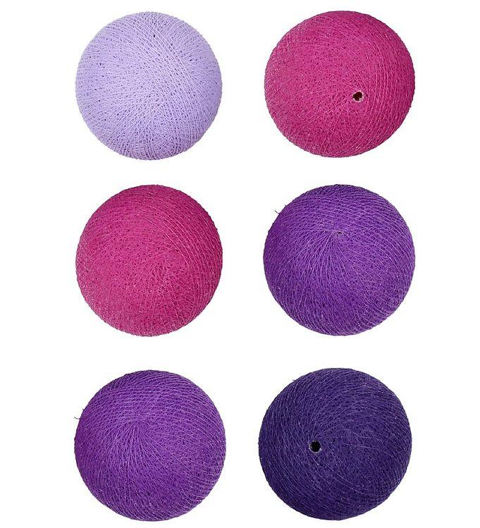 Iris Lights Lyskæde - 20 Lys - Vivid Violet