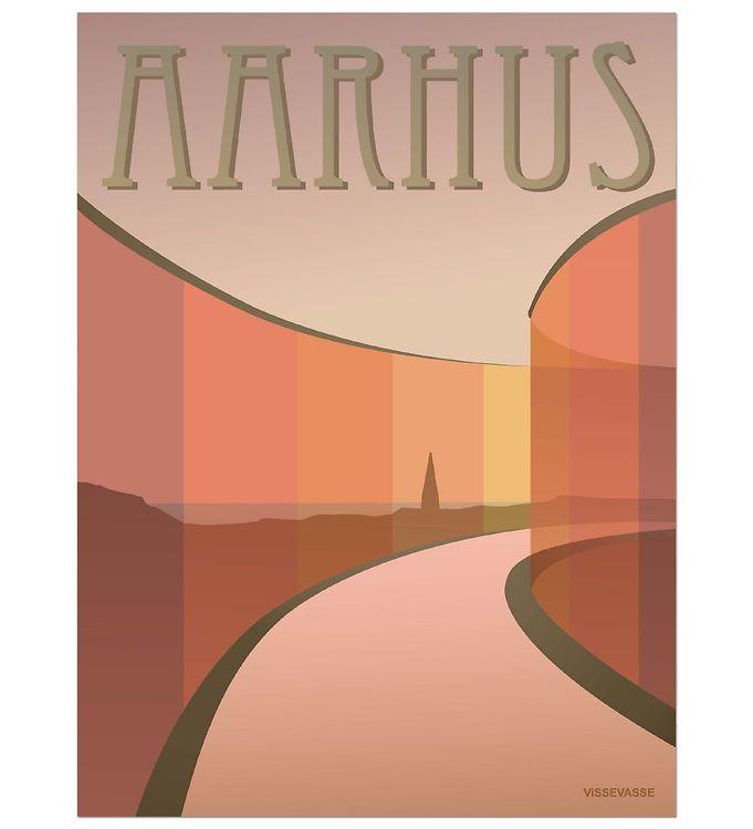 Vissevasse Plakat - 50x70 - Aarhus - Aros