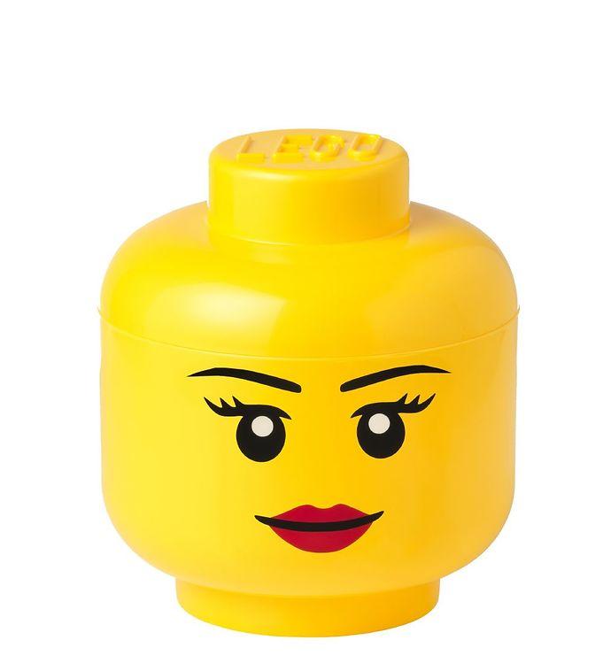 Image of Lego Storage Opbevaringsboks - Lille - Hoved - 19,3 cm - Pige (TA769)
