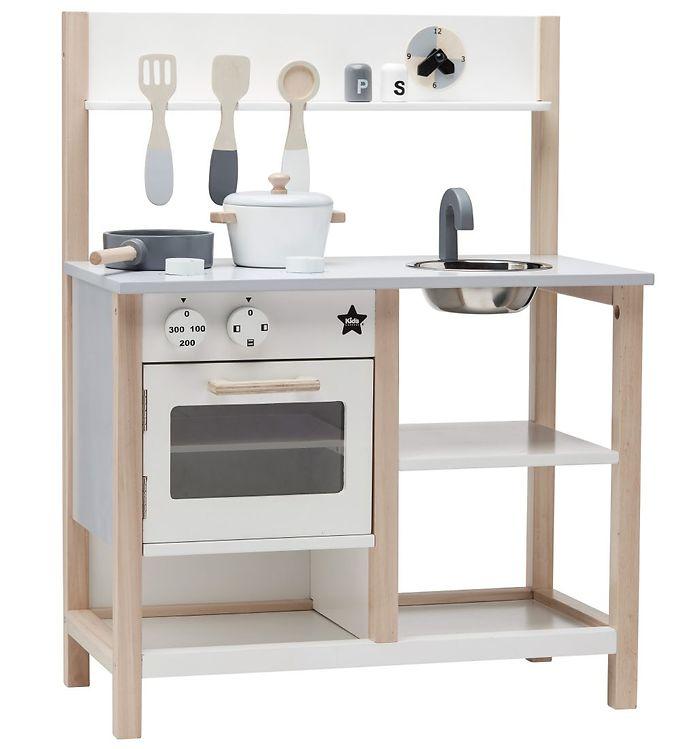 Billede af Kids Concept Køkken - Hvid/Grå