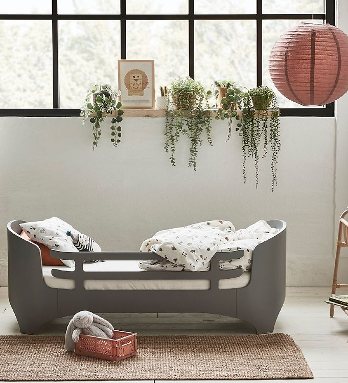 leander sengehest Leander Sengehest til Juniorseng   Grå   Køb her med gratis fragt  leander sengehest