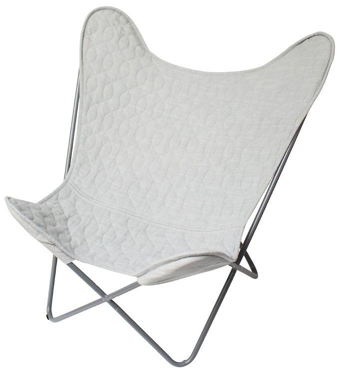 Image of Sebra Stol - Butterfly Chair - Grå (TA931)
