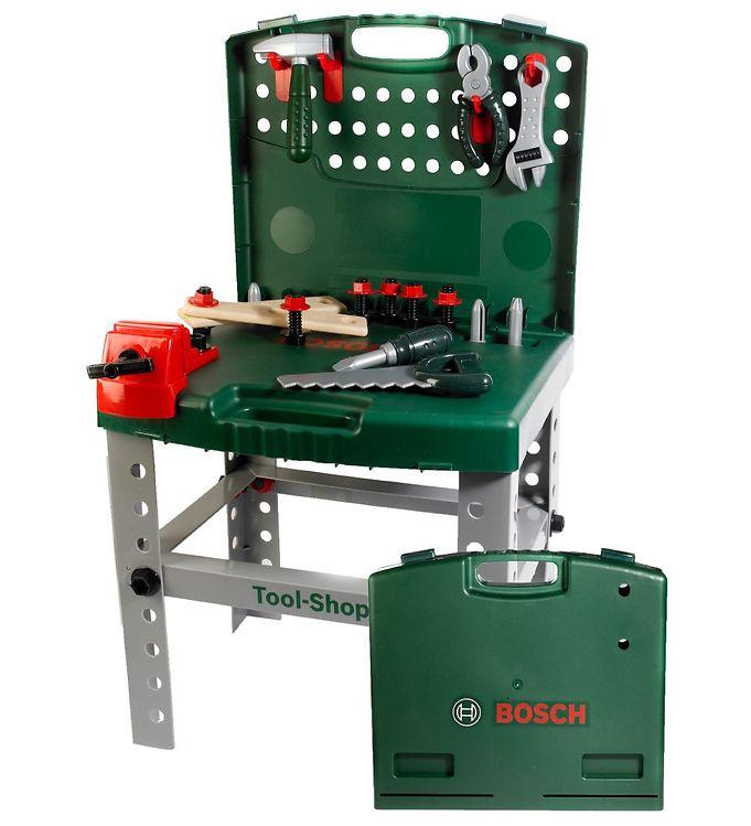 Billede af Bosch Mini Værktøjsbænk - Mørkegrøn