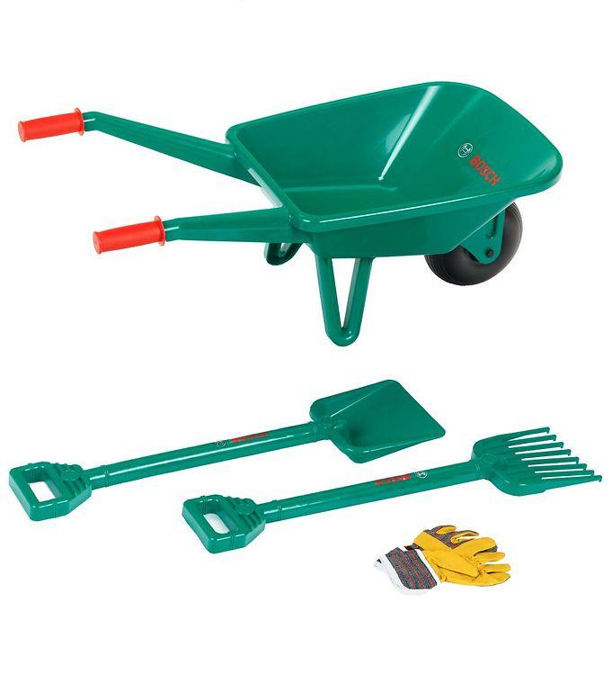 Billede af Bosch Mini Trillebør m. Tilbehør - Grøn