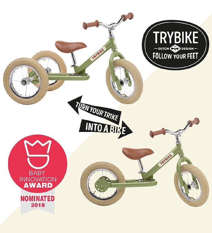 58857ebb1c2 TryBike Løbecykel - Steel - Rød- Køb her med gratis fragt og ...