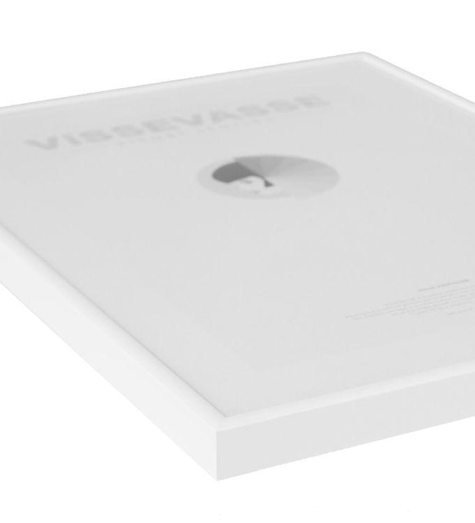vissevasse – Vissevasse ramme - 50x70 - mat hvid på kids-world