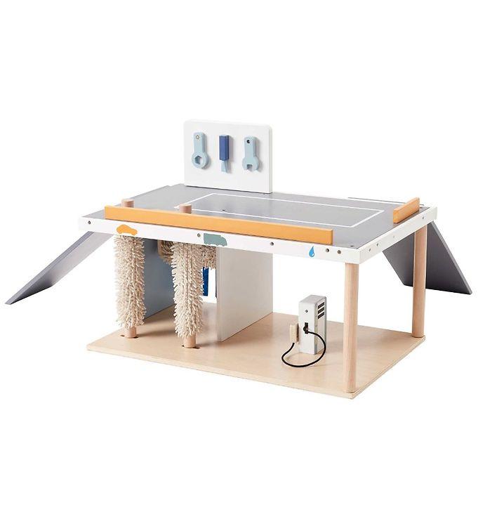 Kids Concept Servicecenter - Aiden - Træ - Kids Concept Bil,Kids Concept Trælegetøj - Kids Concept