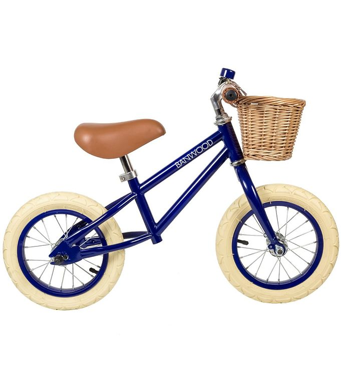 Image of Banwood Løbecykel - First Go! - Navy (TB475)