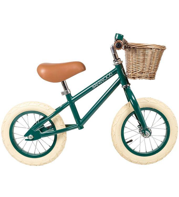 Billede af Banwood Løbecykel - First Go! - Mørkegrøn