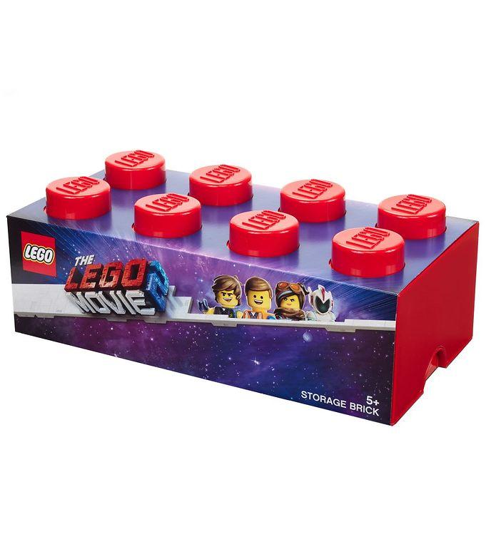 Image of Lego Storage Opbevaringskasse - Lego Movie 2 - 8 Knopper - 50 cm (TB531)
