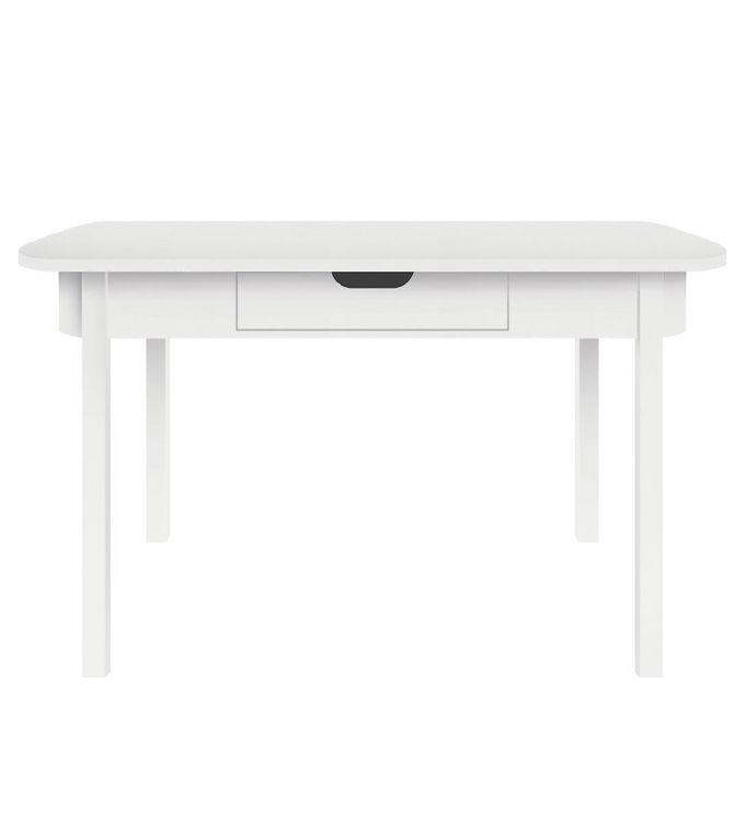 Sebra Skrivebord - Hvid