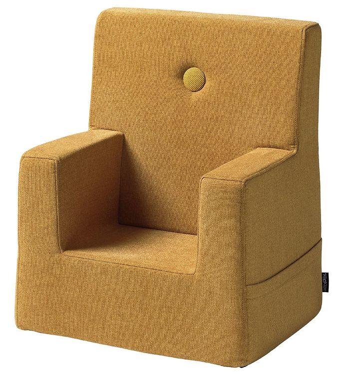 Image of by KlipKlap Lænestol - Kids Chair - Mustard/Mustard (TB617)