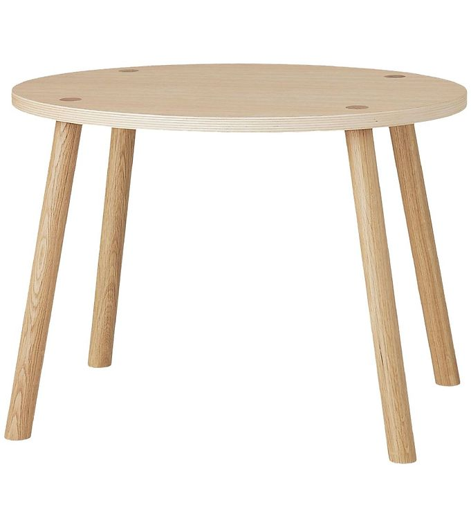 Image of Nofred Mouse Table - Børnebord - Matt Lacquered Oak (TB757)