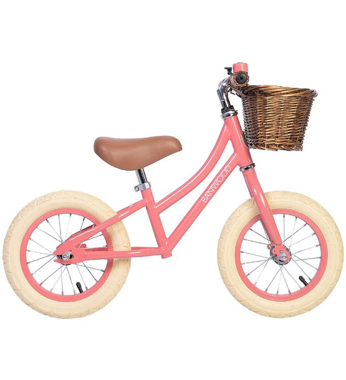 Image of Banwood Løbecykel - First Go! - Coral (TB759)