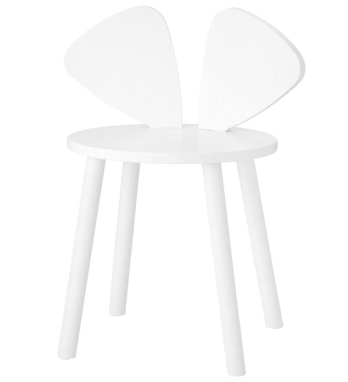 Image of Nofred Børnestol - Mouse Chair School - Hvid (TB842)