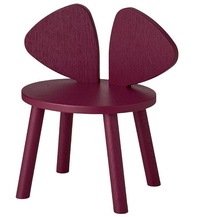 Image of Nofred Børnestol - Mouse Chair - Bordeaux (TB847)