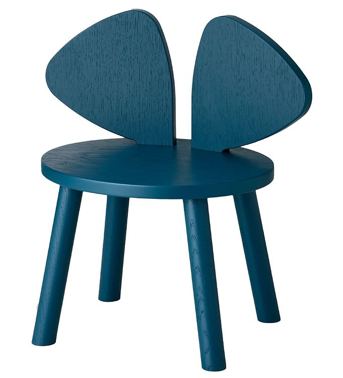 Image of Nofred Børnestol - Mouse Chair - Petroleum (TB849)