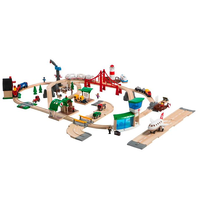 Image of BRIO World Luksus Togsæt (TB901)