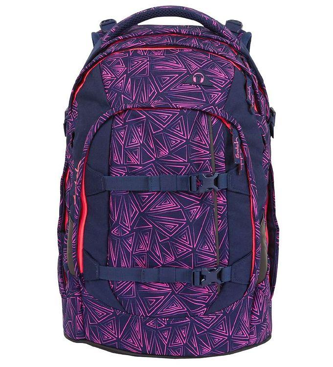 Image of Satch Skoletaske - Pack - Pink Bermuda (TC089)