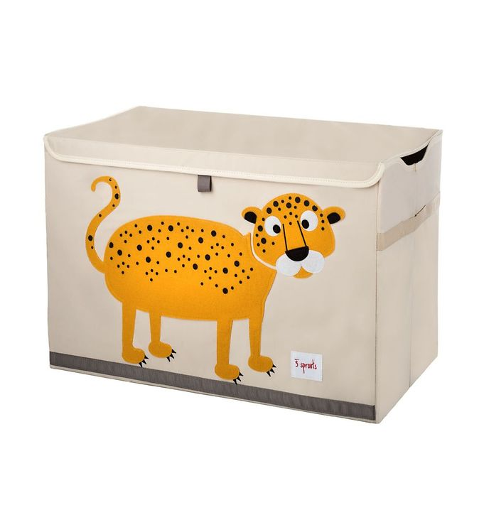 Image of 3 Sprouts Opbevaringkasse - 38x61x37 - Leopard (TC188)