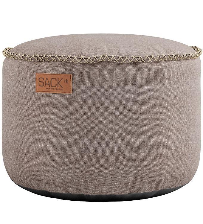 Image of SACKit Puf - Canvas - 50x35 cm - Sand (TC210)