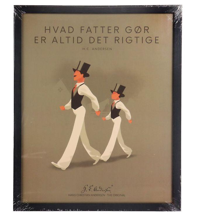 Image of H.C. Andersen Plakat - 40x50 cm - Hvad Fatter Gør (TC238)