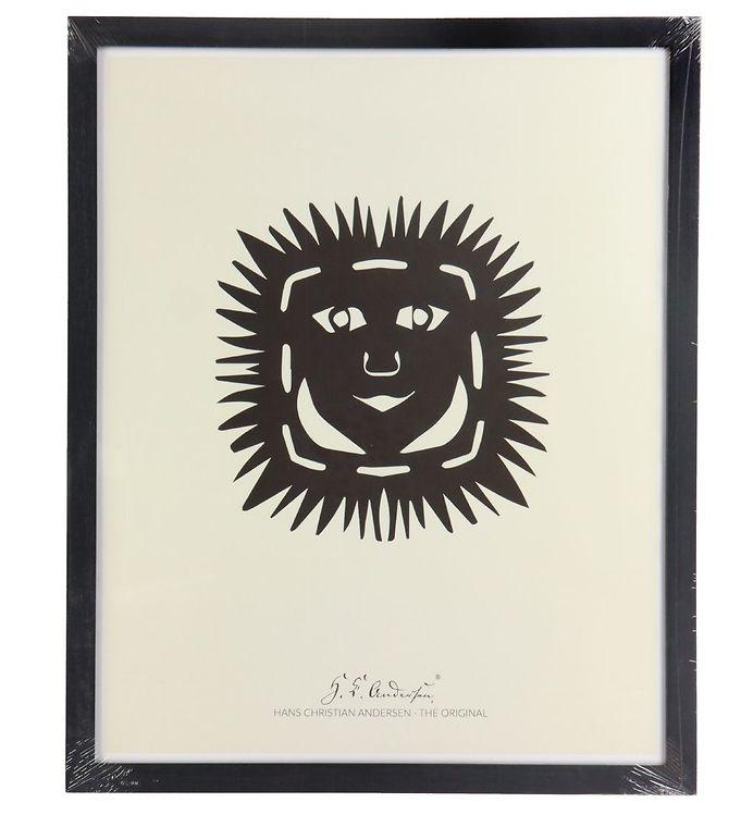 Image of H.C. Andersen Plakat - 40x50 cm - Solhovedet (TC241)