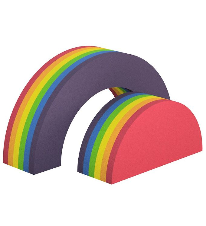 Image of bObles Regnbue - 2 stk - 52 cm - Rainbow (TC278)