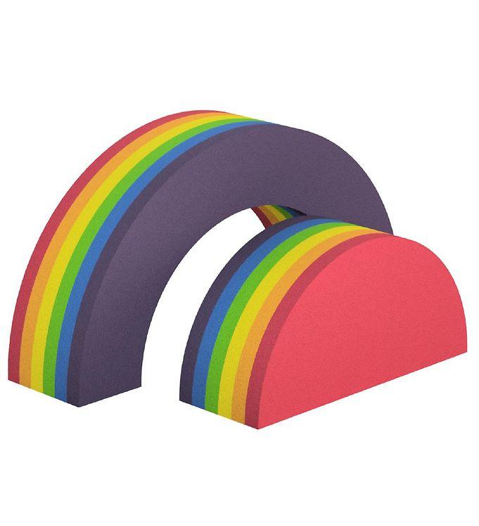 Image of bObles Regnbue - 2 stk- 34 cm - Rainbow (TC286)