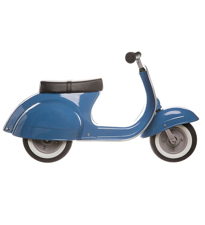 Image of Ambosstoys Løbecykel - Primo Classic - Blå (TC298)