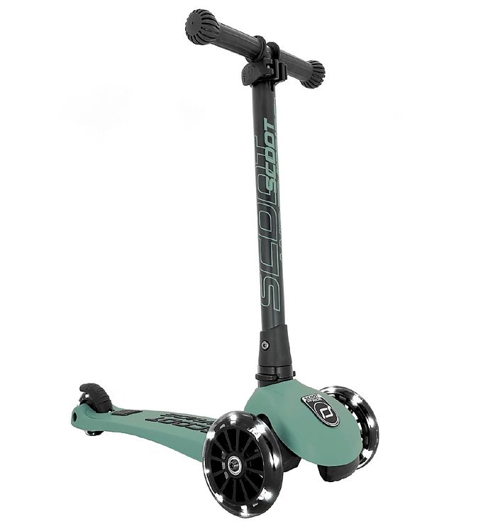 Image of Scoot and Ride Highway Kick 3 - LED - Forest (TG093)