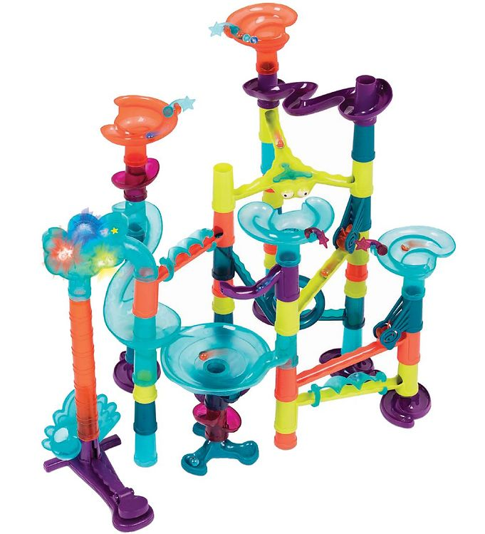 Image of B. toys Kuglebane m. Lys/Lyd - 62 dele - Multifarvet (TG146)
